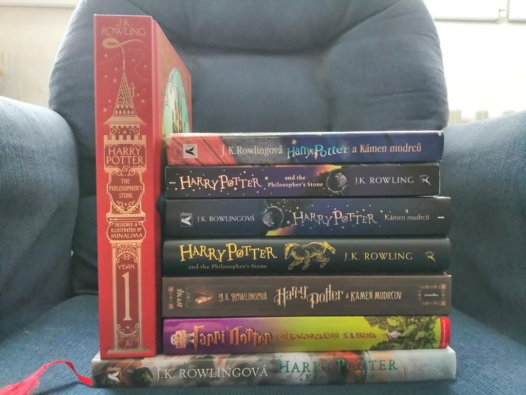 Moje knihovna: Speciál – Harry Potter